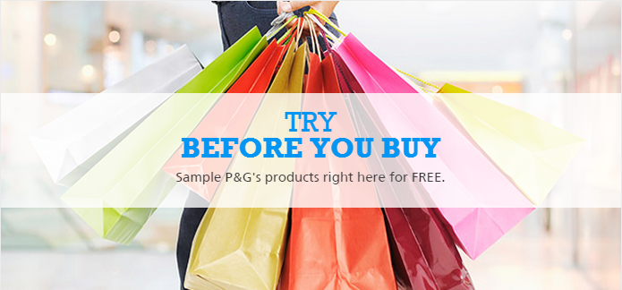Free Trial Samples of P&G Products - Best Offers in Online Shopping